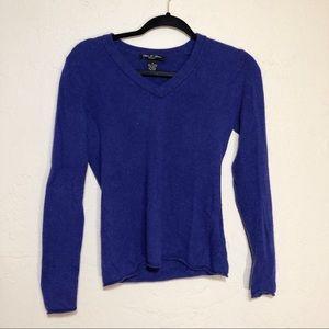 Olivia & Grace Purple Cashmere Sweater S